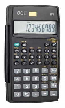 Калькулятор научный Deli E1711 черный