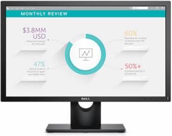 Монитор Dell E2318H черный, диагональ экрана 23, разрешение 1920x1080, тип матрицы IPS, матовая, время отклика 5ms, соотношение сторон 16:9, яркость 250cd, разъемы D-Sub DisplayPort (2318-6882)