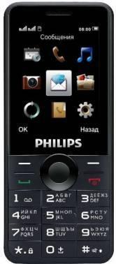 Мобильный телефон Philips Xenium E168 черный (867000143056)