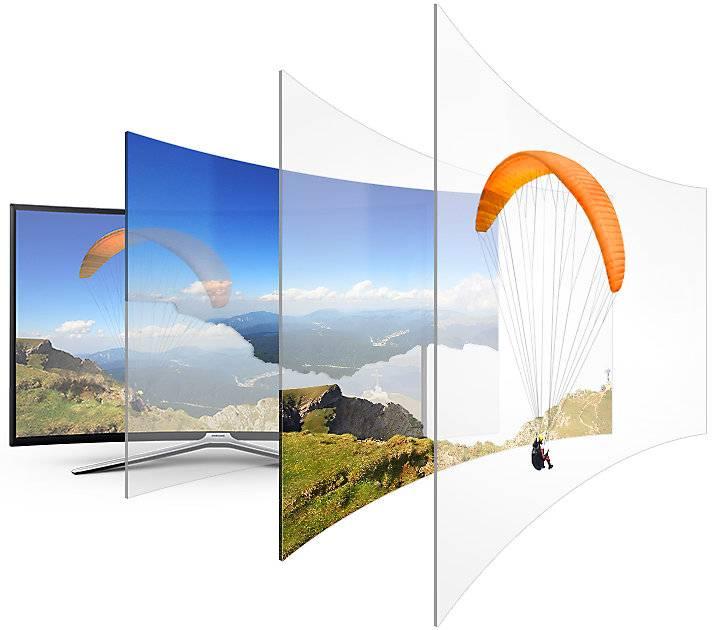 "Телевизор LED 55"" Samsung UE55M6500AUXRU титан - фото 8"