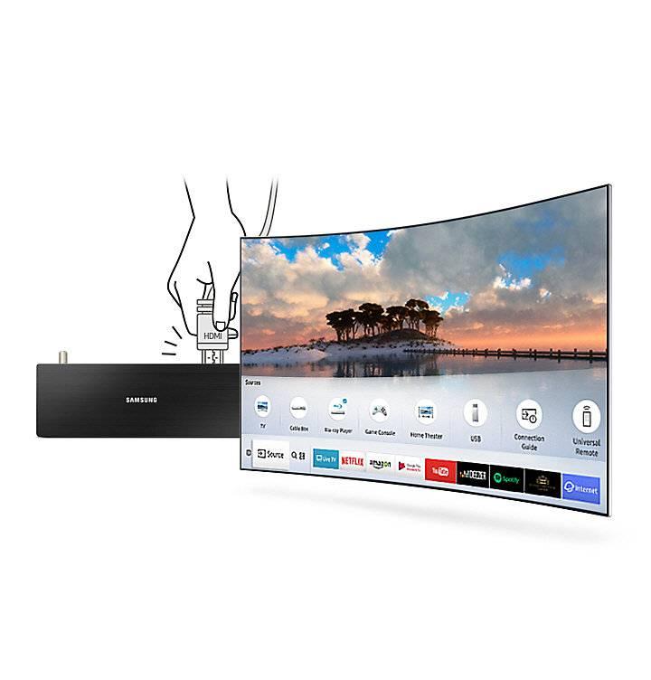 "Телевизор LED 55"" Samsung UE55M6500AUXRU титан - фото 9"