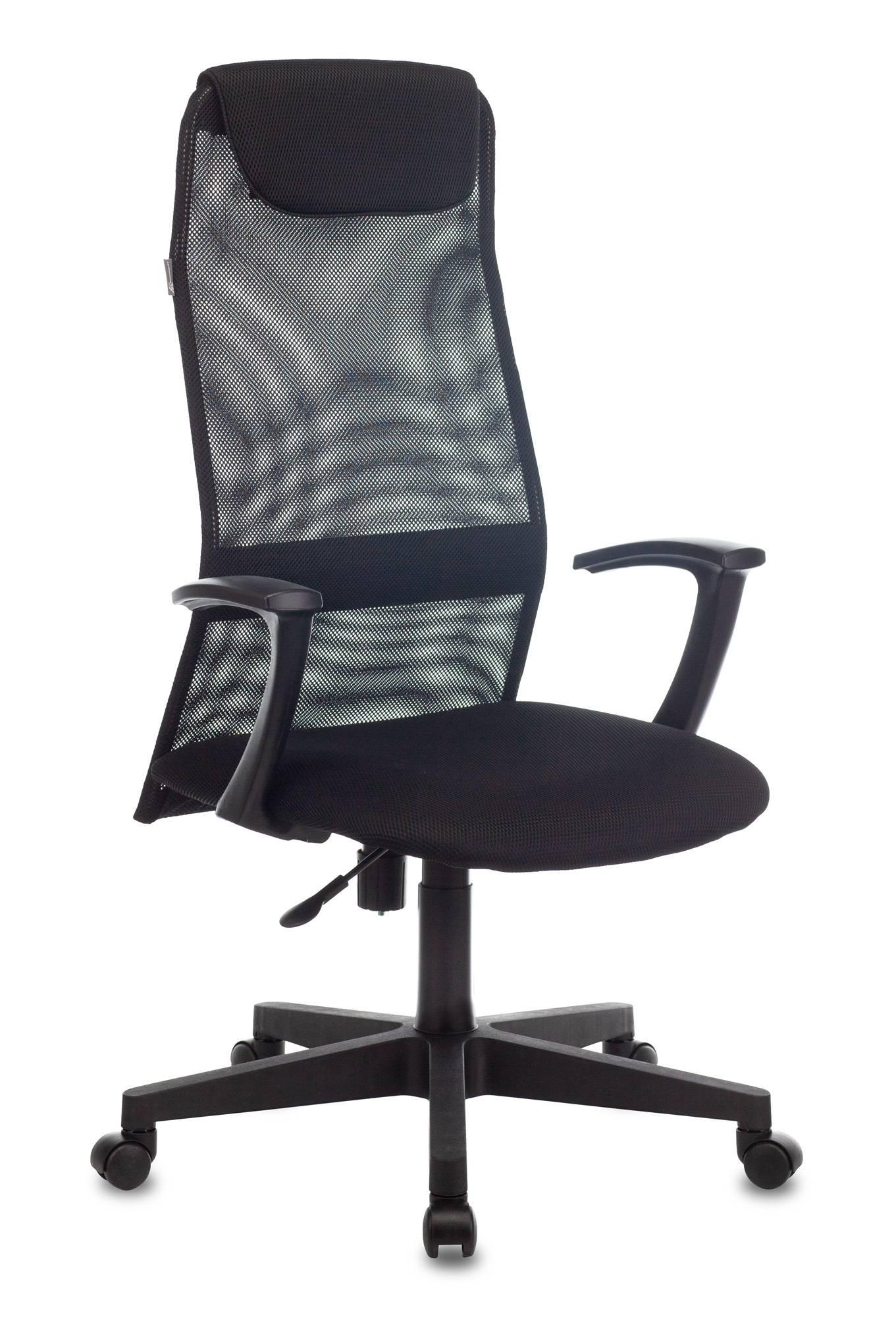 Кресло руководителя Бюрократ KB-8 черный (KB-8/BLACK) - фото 1