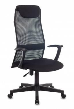 Кресло руководителя Бюрократ KB-8 / BLACK черный