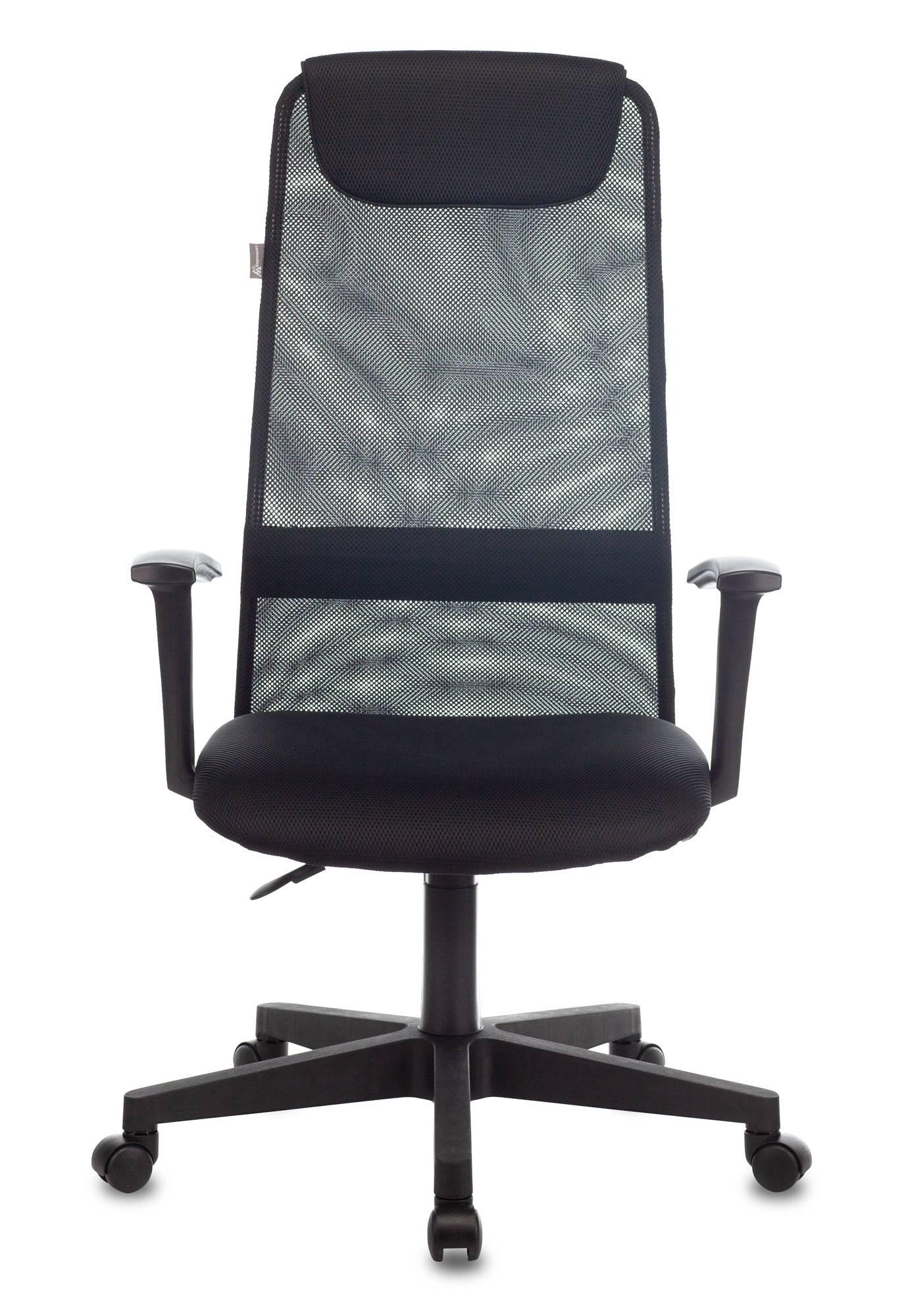 Кресло руководителя Бюрократ KB-8 черный (KB-8/BLACK) - фото 2