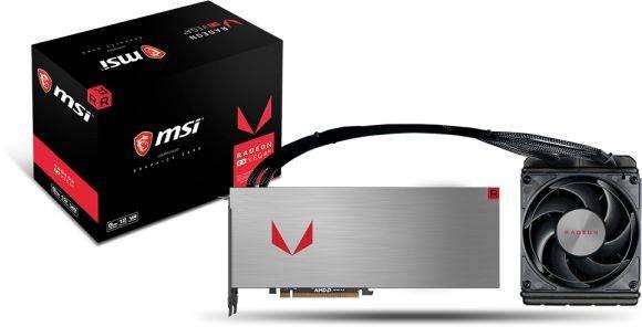 Видеокарта MSI RX VEGA 64 WAVE 8192 МБ (RX VEGA 64 WAVE 8G) - фото 3