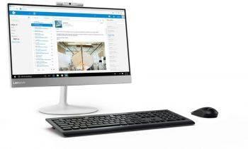 """Моноблок 21.5"""" Lenovo V410z белый (10R60004RU)"""