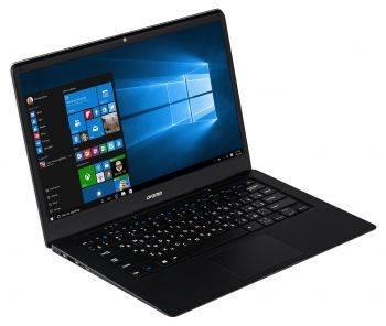 Ноутбук 14.1 Digma EVE 1401 черный / серебристый