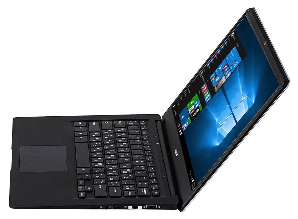 """Ноутбук 14.1"""" Digma EVE 1401 черный/серебристый - фото 4"""
