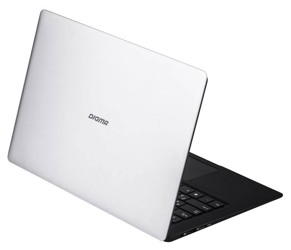 """Ноутбук 14.1"""" Digma EVE 1401 черный/серебристый - фото 11"""
