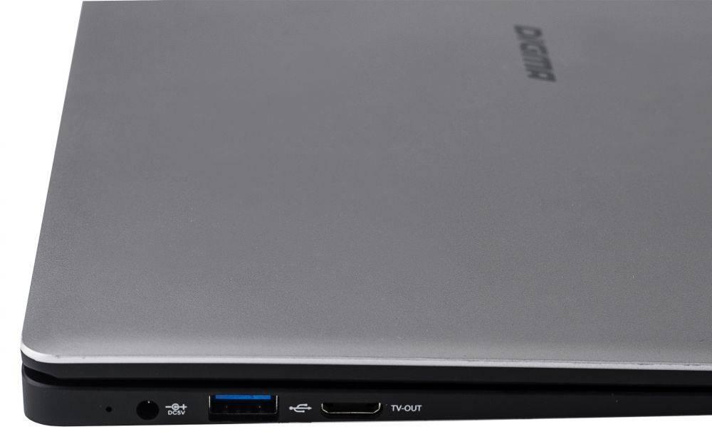 """Ноутбук 14.1"""" Digma EVE 1401 черный/серебристый (ET4012EW) - фото 15"""