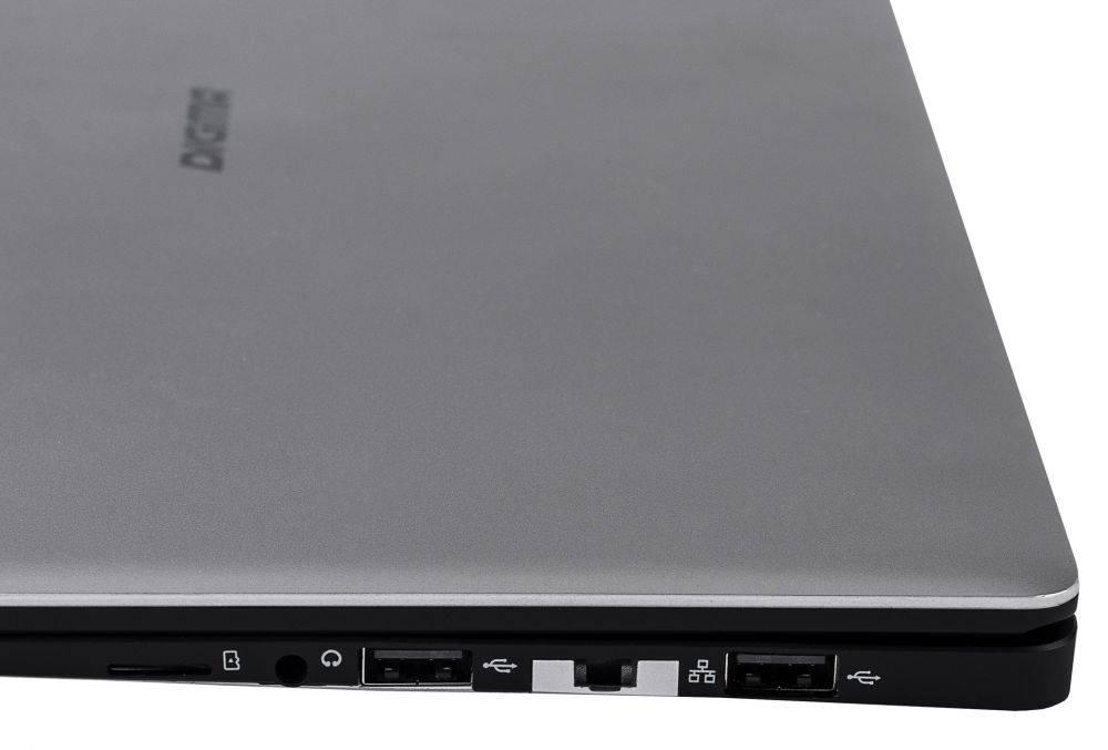 """Ноутбук 14.1"""" Digma EVE 1401 черный/серебристый (ET4012EW) - фото 16"""