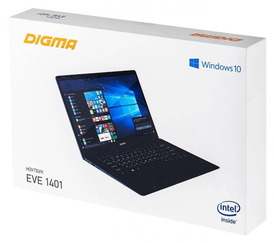 """Ноутбук 14.1"""" Digma EVE 1401 черный/серебристый (ET4012EW) - фото 21"""