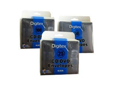 Конверт Digitex на 2CD/DVD DCAEB-025-PP прозрачный - фото 1