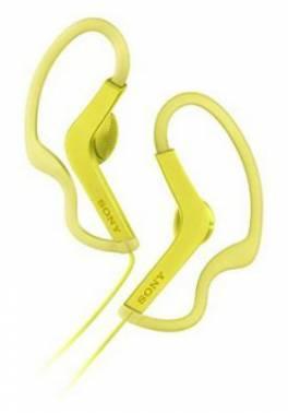 Гарнитура Sony MDR-AS210AP желтый (MDRAS210APY.E)