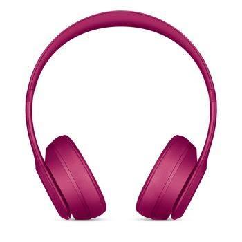 Гарнитура Beats Solo3 розовый матовый, накладные, крепление оголовье, беспроводные bluetooth, кабель 1.36м