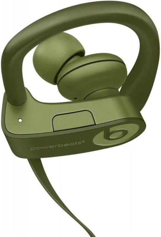 Гарнитура Beats Powerbeats 3 зеленый (MQ382ZE/A) - фото 1