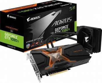 Видеокарта Gigabyte GeForce GTX 1080 Ti AORUS W-11GD 11264 МБ (GV-N108TAORUSX W-11GD)