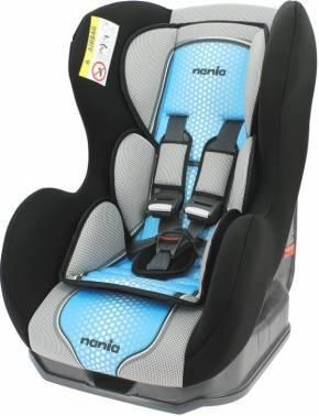 Автокресло детское Nania Cosmo SP FST (pop blue) черный / голубой