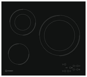 Варочная поверхность Indesit RI 360 C черный
