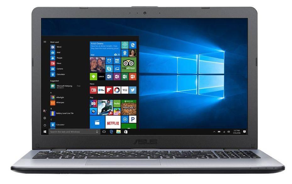 """Ноутбук 15.6"""" Asus VivoBook X542UA-GQ003T (90NB0F22-M02550) темно-серый - фото 1"""