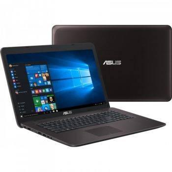 Ноутбук 17.3 Asus X756UQ-T4418T (90NB0C31-M05000) темно-коричневый