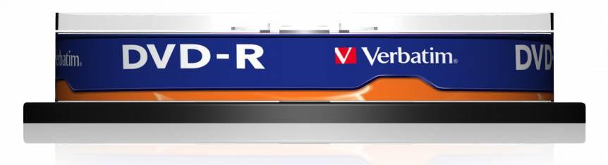 Диск DVD-R Verbatim 4.7Gb 16x (10шт) (43523) - фото 3