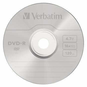 Диск DVD-R Verbatim 4.7Gb 16x (50шт) (43548)