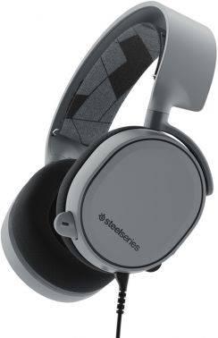 Наушники с микрофоном Steelseries Arctis 3 серый