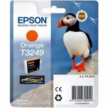 Картридж Epson T3249 оранжевый (C13T32494010)