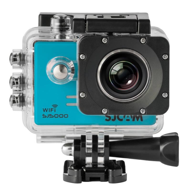 Экшн-камера SJCam SJ5000 WiFi синий - фото 1