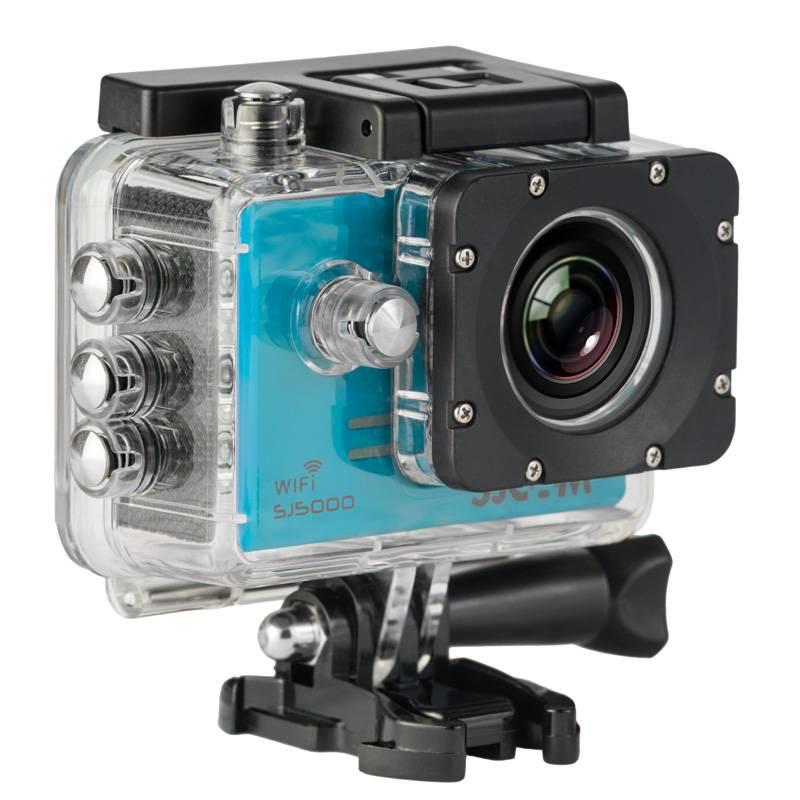 Экшн-камера SJCam SJ5000 WiFi синий - фото 2