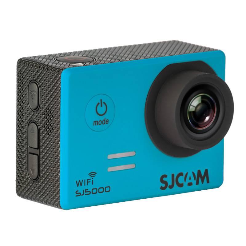 Экшн-камера SJCam SJ5000 WiFi синий - фото 3