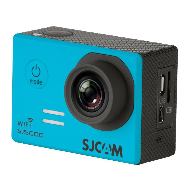 Экшн-камера SJCam SJ5000 WiFi синий - фото 4