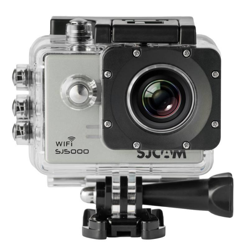 Экшн-камера SJCam SJ5000 WiFi серебристый - фото 1