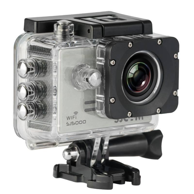 Экшн-камера SJCam SJ5000 WiFi серебристый - фото 2