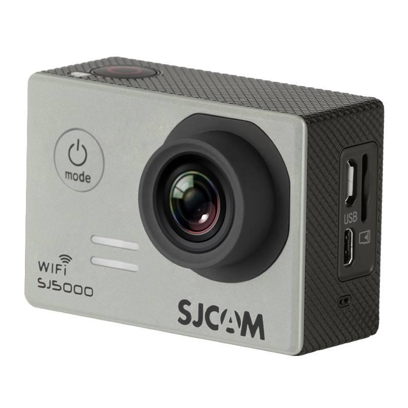 Экшн-камера SJCam SJ5000 WiFi серебристый - фото 3