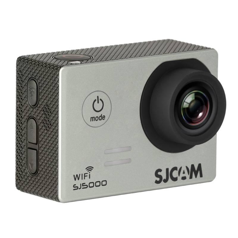 Экшн-камера SJCam SJ5000 WiFi серебристый - фото 4