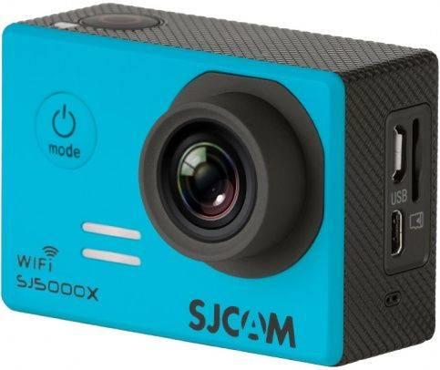 Экшн-камера SJCam SJ5000X Elite синий - фото 1