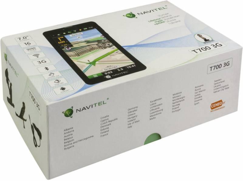 """GPS-навигатор Navitel T700 3G 7"""" черный (T700) - фото 5"""