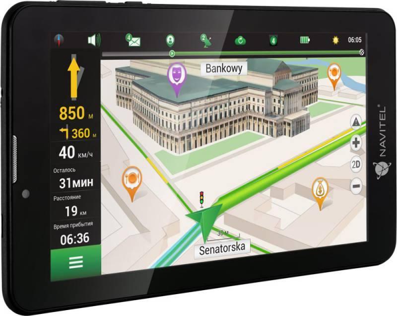 """GPS-навигатор Navitel T700 3G 7"""" черный (T700) - фото 1"""