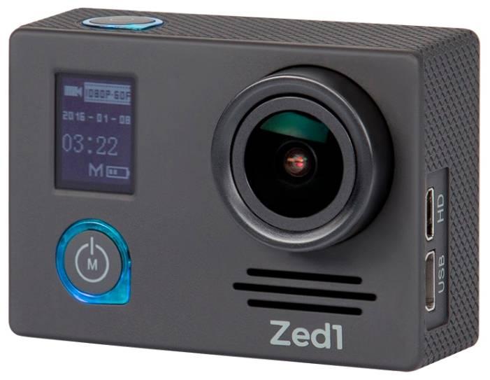 Экшн-камера AC Robin ZED1 черный - фото 1
