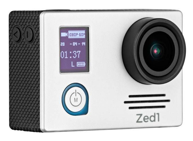 Экшн-камера AC Robin ZED1 серебристый (АК-00000751) - фото 1