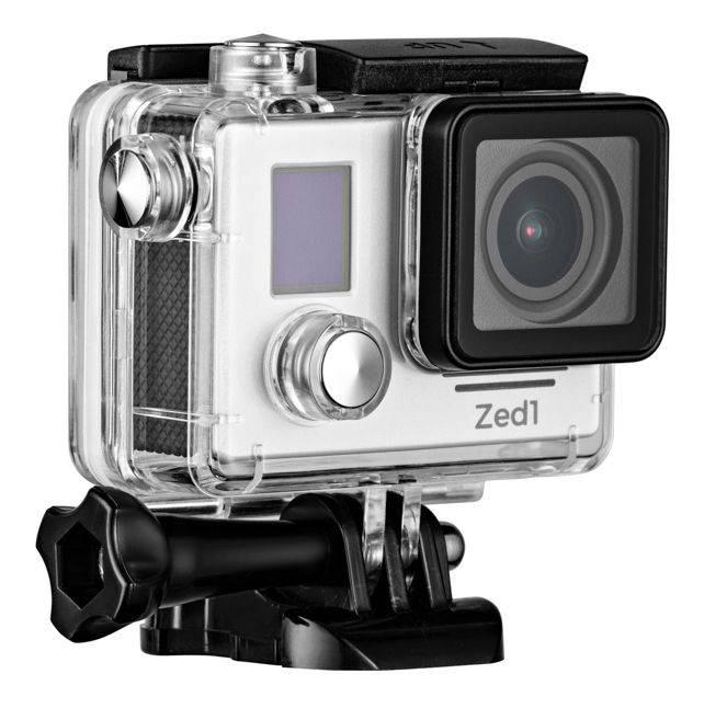Экшн-камера AC Robin ZED1 серебристый (АК-00000751) - фото 2