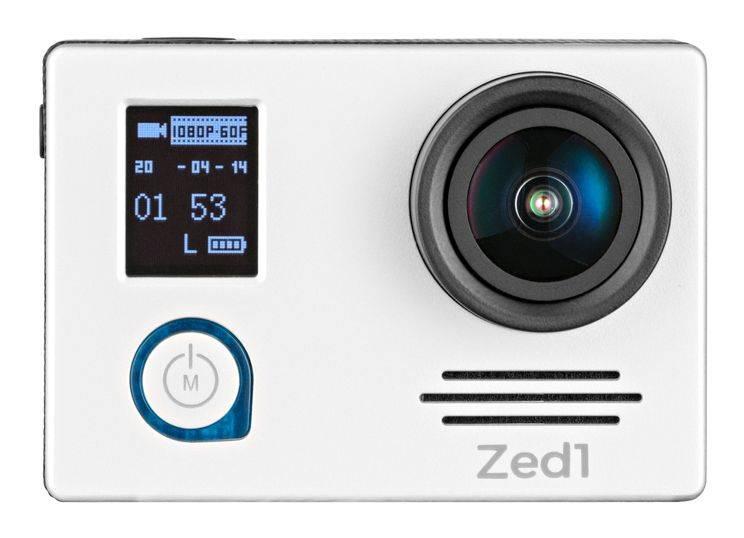 Экшн-камера AC Robin ZED1 серебристый (АК-00000751) - фото 3