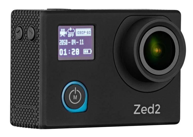 Экшн-камера AC Robin ZED2 черный (АК-00000752) - фото 1