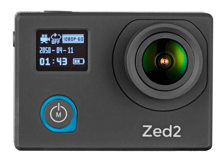 Экшн-камера AC Robin ZED2 черный - фото 3