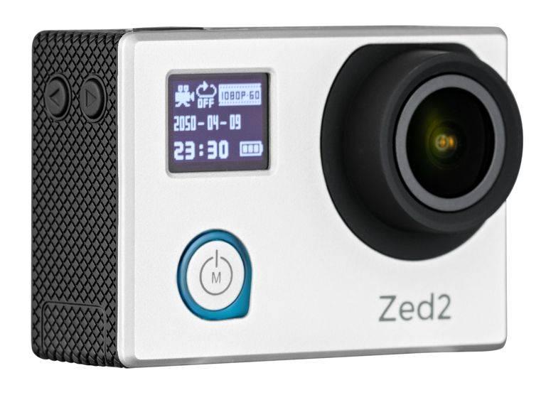Экшн-камера AC Robin ZED2 серебристый - фото 1