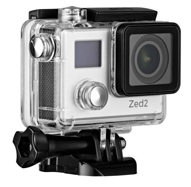Экшн-камера AC Robin ZED2 серебристый - фото 2
