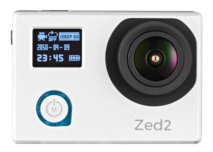 Экшн-камера AC Robin ZED2 серебристый - фото 3