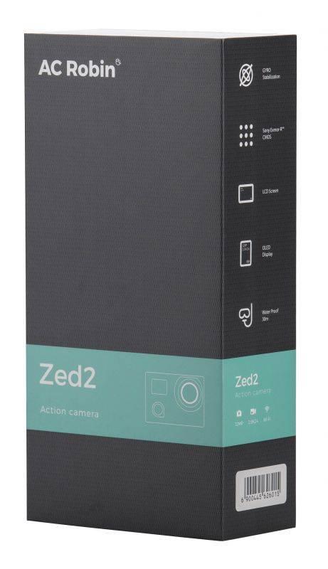 Экшн-камера AC Robin ZED2 серебристый (АК-00000753) - фото 6